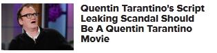 Quentin Tarantino hollywood.com