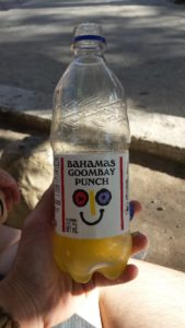 The soda smiles at you! Only in the Bahamas, I swear.