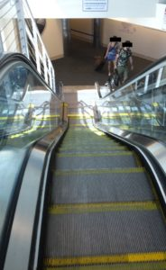 Escalators are all over the place where I live, I was shocked to see one in Florida too!
